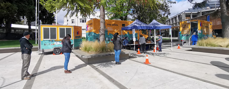 PCR en campus San Francisco