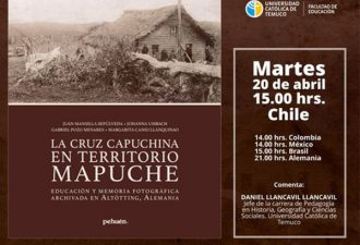 """Lanzamiento libro """"La cruz capuchina en territorio Mapuche"""""""