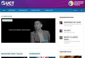 Seminarios virtuales de Red G9 llegan al canal TV UCT Araucanía