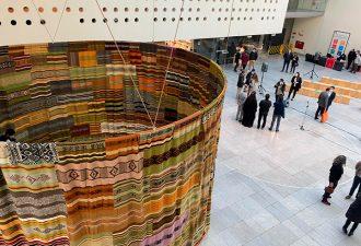 Inauguran Exposición Meli Newen-Cuatro Fuerzas en el Centro Cultural La Moneda