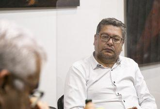 El alcalde electo de Temuco dialogó con el Rector de la UCT
