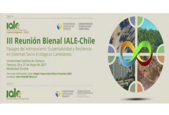 UC Temuco organizó la III Reunión Bienal IALE-Chile