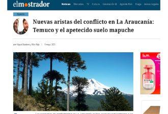 Nuevas aristas del conflicto en La Araucanía: Temuco y el apetecido suelo mapuche