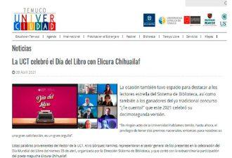 29.04.2021 UCT celebró Día del Libro con Elicura Chihuailaf