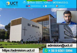UCT comienzadifusión para Proceso de Admisión 2022