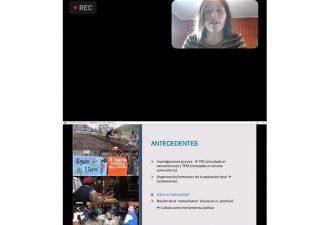 Laura Fontana presentó Proyecto Doctoral al Centro de Estudios Socioculturales de la UC Temuco