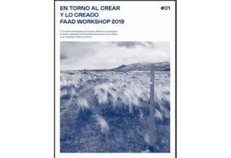 FAAD UC Temuco presenta su libro En torno al crear y lo creado 2019