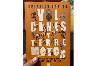 """Geofísico Cristian Farías publica libro """"Volcanes y Terremotos"""""""