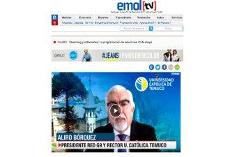 Entrevista Rector Bórquez: Red G9 advierte que actualizaciones a Ley de Educación Superior aumentarán déficit de los planteles