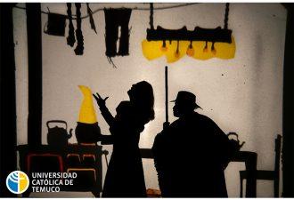 Con obra de teatro familiar la UCT inició actividades presenciales en Aula Magna