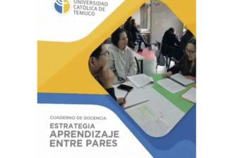 """""""Estrategia aprendizaje entre pares"""": nuevo cuaderno de docencia"""
