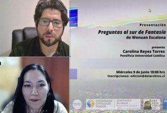 """""""Preguntas al sur de fantasía"""" fue presentado en la UC Temuco"""