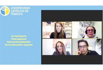 I Seminario Interregional en Internacionalización de la Educación Superior