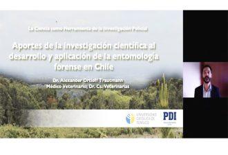 UC Temuco y PDI realizaron seminario sobre el aporte de las ciencias forenses a la labor investigativa
