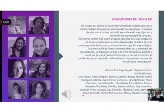 """Bajo el tema """"Hacer arqueología desde el feminismo"""" se desarrolló el IV Encuentro de Mujeres y Arqueología"""