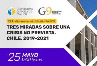 El Martes 25 se Realizará el Seminario: Tres miradas Sobre una Crisis no Prevista, Chile 2019-2021
