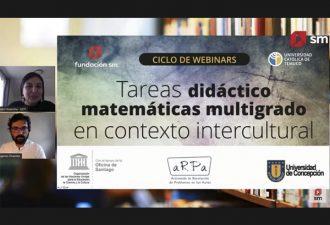 Inicia ciclo de talleres gratuitos sobre enseñanza de las matemáticas en contextos interculturales