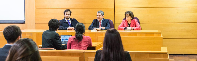 Banner Facultad de Ciencias Jurídicas, Económicas y Administrativas