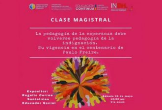 Diplomado en DDHH inauguró su tercera versión con charla magistral en el centenario de Paulo Freire