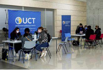 Exitoso Proceso de Postulación 2020 en la UC Temuco