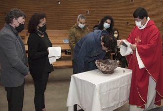 Estudiantes y funcionarios UCT recibieron sacramentos