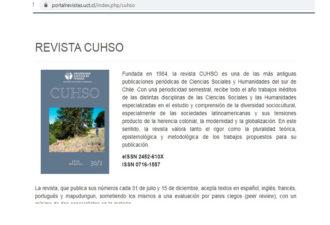 Revistas Científicas UC Temuco cuentan con nueva plataforma